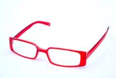 红色的玻璃 免版税库存照片