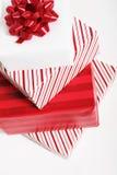 红色的礼品 免版税图库摄影