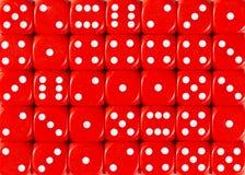 红色的背景样式切成小方块,被定购的任意 免版税库存图片