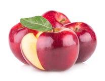 红色的苹果 免版税库存照片