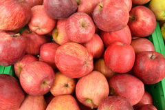 红色的苹果 图库摄影