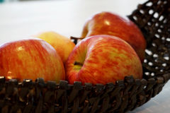 红色的苹果 库存照片