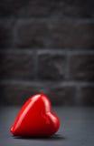 红色的重点 免版税库存照片