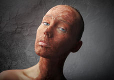 红色皮肤 免版税图库摄影