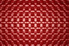 红色皮革室内装饰品构造/Abstract背景 向量例证