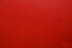红色皮革纹理 免版税图库摄影