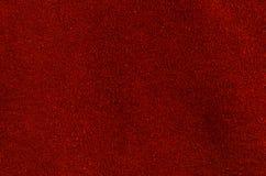 红色皮革 库存图片