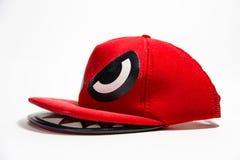 红色盖帽 免版税库存照片