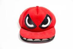 红色盖帽 免版税库存图片
