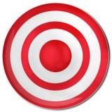 红色目标 免版税库存图片