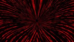 红色矩阵蠕虫孔漩涡隧道VJ圈行动背景 股票录像