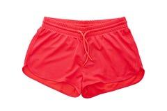 红色短裤 免版税库存照片