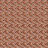 红色石墙的片段的无缝的样式 免版税库存照片