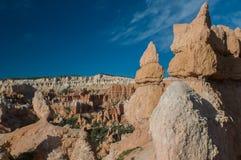 红色石峰(不祥之物) Bryce峡谷,犹他,美国 库存照片