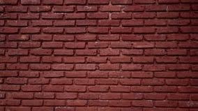 红色石纹理墙壁 免版税库存图片