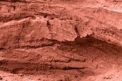 红色石纹理 免版税图库摄影