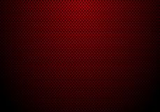 红色碳纤维背景和纹理与照明设备 汽车调整或服务的物质墙纸 皇族释放例证