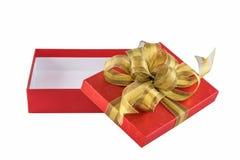 红色礼物盒 库存照片