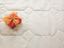 红色礼物盒 库存图片