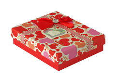 红色礼物 库存图片