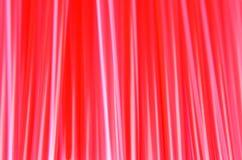 红色秸杆的样式 图库摄影
