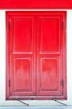 红色窗口 库存照片