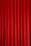 红色窗帘背景 库存照片