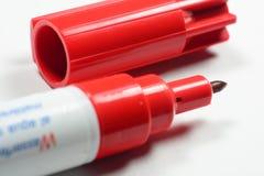 红色笔 免版税库存图片