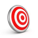 红色箭目标目标 皇族释放例证