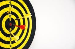 红色箭箭头 免版税库存照片
