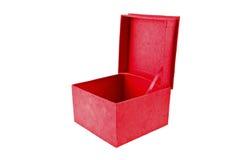 红色箱子三 库存照片