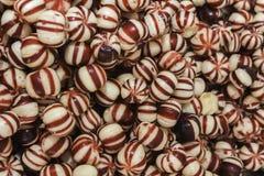 红色糖果关闭 免版税库存照片