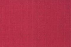 红色纸板纹理 免版税图库摄影