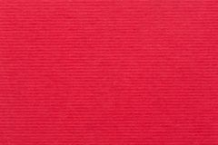 红色纸盒背景或纸板纹理 免版税库存图片
