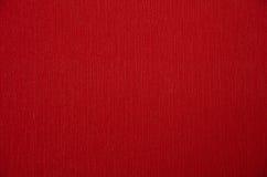 红色纸纹理或背景 免版税图库摄影