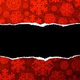 红色纸背景 免版税库存图片