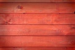 红色纹理木头 免版税库存图片
