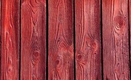 红色纹理木头 库存图片
