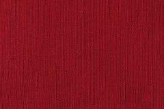 红色织品背景纹理 纺织材料特写镜头细节  库存图片
