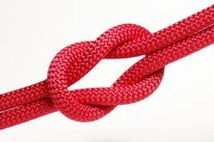 红色绳索 免版税库存图片