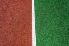 红色绿色空白线路Astro草皮 库存图片