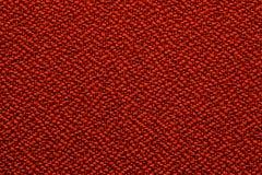 红色缝的纹理 免版税库存照片