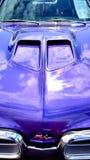 红色美国肌肉汽车 免版税库存图片