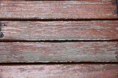 红色老木墙壁 图库摄影