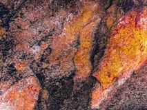 红色老水泥纹理 库存照片