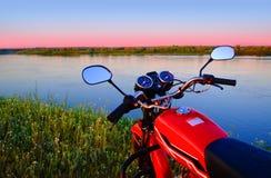 红色自行车 图库摄影