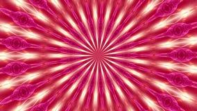 红色自转摘要背景由许多小元素2做成 向量例证