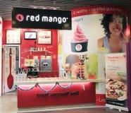 红色芒果在香港 免版税库存照片