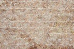 红色花岗岩墙壁背景纹理 免版税库存图片