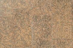 红色花岗岩墙壁 免版税库存照片